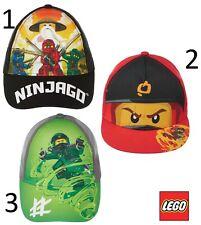 Disney Lego Ninjago Cap Basecap Kappe Mütze Kopfbedeckung Größe 52 - 54 NEU