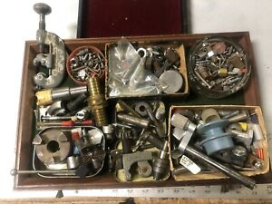 MACHINIST TOOLS LATHE MILL Lot  Lot of Machinist Drawer Contents