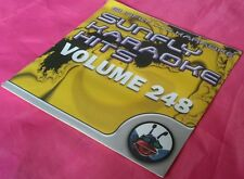 Karaoke CD+G disc, Sunfly Hits Vol 248, see Description 15 tracks/arts
