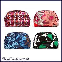 NWT Vera Bradley Small Zip Cosmetic Bag Makeup Travel Case