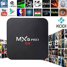 MXQ Pro 4K Smart TV BOX pre load Android 6 Marshmallow S905X Quad Core 8GB