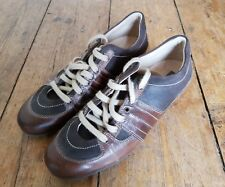 DKNY Brown Leather and Suede Casual Shoes UK 5 EU 38 US 7 lightly worn