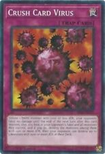 Crush Card Virus - SR06-EN031 x3 3x Cards Mint Lair of Darkness 1st Ed