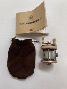 Vintage Abu Garcia Ambassadeur G 2600 Bait Casting Fishing Reel Made in Sweden
