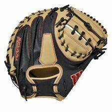 """2021 Wilson A2000 M2SS 33.5"""" SuperSkin Baseball Catcher's Mitt: WBW100117335"""