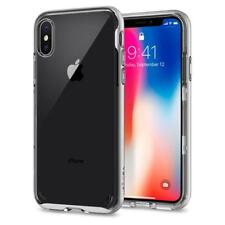 Spigen iPhone X Case Neo Hybrid Crystal Satin Silver