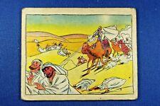 1935 Pulver Picture Card #110 - Short Barrel Gun on Camel - F/G Condition
