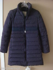 $1250 100%AUTH MONCLER Sologne Logo Puffer Poly Down COAT JACKET Size 00 XS Plum