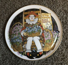 """Royal Doulton Collector's International """"Behind The Painted Masque"""" Domed Plate"""