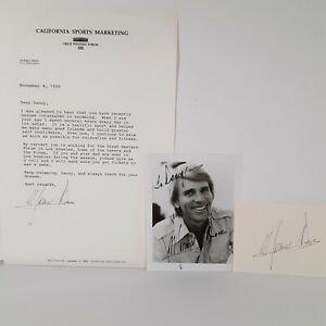 Murray Rose Australian Olympic Swimmer 1956 1960 Medalist Signed Memorabilia Lot