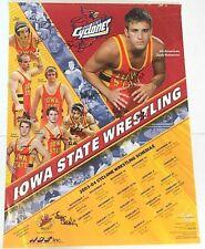 Iowa State Cyclones 03/04 Wrestling Team Signed Poster Chris Bono Bobby Douglas
