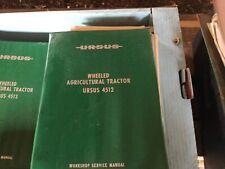 Ursus 4512 Workshop Service Manual