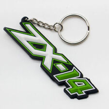 3D Soft Rubber Key Ring Chain Keychain Keyfob For Kawasaki Ninja ZX14R ZX6R