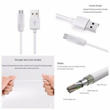 Micro USB 2.0 Cable Cord Charger Sync Data for Samsung S4 S6 S7 Android HTC LG