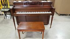 Upright Piano Story and Clark Spinet w/ Tonk Bench