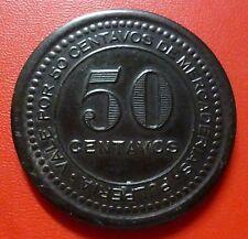 CHILE BAKELITE TOKEN Soc. Francaise Mines de Cuivre $50 cent (Collahuasi Grande)