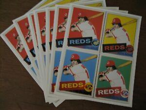 8 Vintage Andy Warhol's Pete Rose Baseball Card Prints by Cincinnati Art Museum