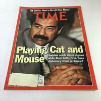 Time Magazine: Sept 10 1990 - Playing Cat and Mouse with Saddam Hussein