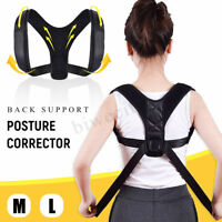 Correcteur de Posture Support Dos Magnétique Épaule Bretelles Ceinture