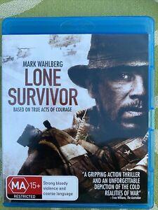 Lone Survivor Blu-Ray Disc Movie. Free Postage. Starring Mark Wahlberg.