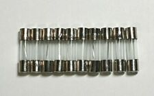 Glass Fuse 10 Pack - 250V 5x20mm - Choose from available values - Free UK P&P