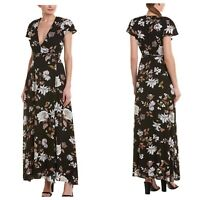 Sage The Label Womens Medium Floral Maxi Dress New