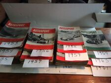 Autosport - Britain's Motor Sporting Weekly Magazine - Mixed Lot of 189 - '53-64