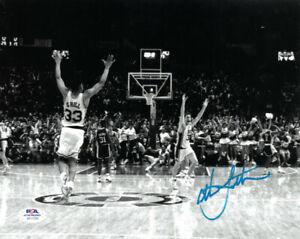 Christian Laettner signed 1992 Duke Blue Devils 8x10 Photo-PSA ITP (Celebration)
