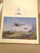 Adlertag by Frank Wootton. Very Rare Lim Edn, MINT COND, Artist & Veteran Signed