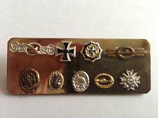 Ordensspange, Deutsches Kreuz, EK1, U-Boot-Frontspange, etc., 57er Trageweise