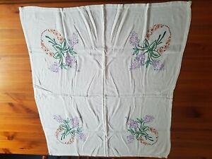 Vintage tablecloths