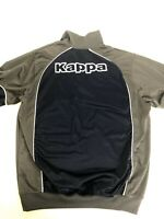 Kappa Quarter Zip Pullover Sweatshirt Mens Extra Large (XL) Blue & Gray