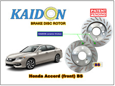 """Honda Accord disc rotor KAIDON (front) type """"BS"""" / """"RS"""" spec"""
