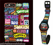 STREET CLUB! Swatch Special Pack w GRAFFITI by GREMS! NIP-RARE!