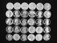1968-S to 1998-S Gem Proof Washington Quarter Dollar Complete 30 Piece Clad Set
