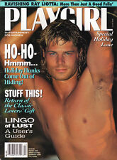 PLAYGIRL Holiday 1992 RAY LIOTTA 10 Sexiest Men BART SAVAGE Tom Marinelli