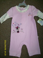 DISNEY BABY GIRL THERMAL OUTFIT WITH SNAPS NEW