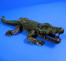 Crocodile Bubbles Aquarium Ornament Decor 26.5cm Fish Tank Bonsai Air Wall