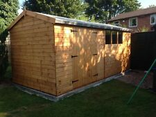 14x8 HEAVY DUTY APEX SHED - 13mm T/G, WORKSHOP