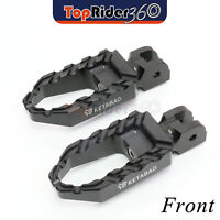 Aluminum Highway Wide BUZZ Front Foot Pegs For Kawasaki Versys X-300