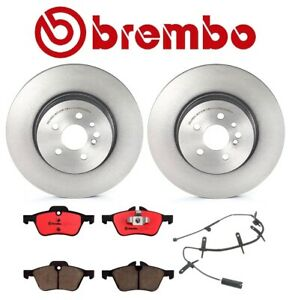 For Mini Cooper R53 Brembo Front Brake Kit Disc Rotors Ceramic Pads with Sensor
