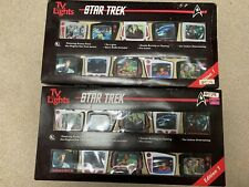 Two sets of Star Trek TV Lights. One is new the other is slightly used.