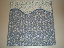 Laura Ashley Polyanthus Primrose Ruffled NEW Shower Curtain Fabric Cottage
