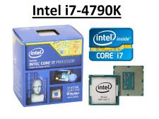 Intel Core i7-4790K SR219 ''Haswell'' 4 Core, LGA1150, Clock 4.0 - 4.4 GHz CPU