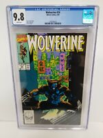 Wolverine #24 CGC 9.8 NM/MT, JIM LEE COVER. 1990, CGC census 65 Unblemished Case
