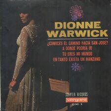 radio stamp on bDIONNE WARWICK EP Spain 1968 Do you know the way to San José? +3