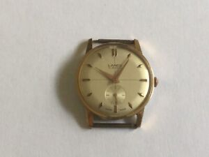 VINTAGE GENTS LANCO 15 JEWELS SWISS MADE WATCH LOVELY CONDITION