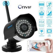 HD 1080P WIFI Wireless IP Camera CCTV Outdoor Security 36IR Leds Night Vision US
