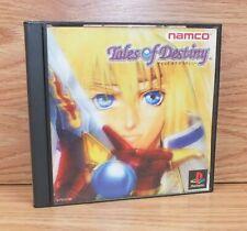 Tales of Destiny (Sony PlayStation 1, PS1, NTSC/J) Japanese Version
