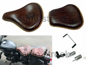 Royal Enfield Classic Seat 350cc 500cc Front and Rear Leather Colors Brown